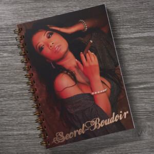 Secret Boudoir Chrissie Wunna Cigar Copper Foil Notebook